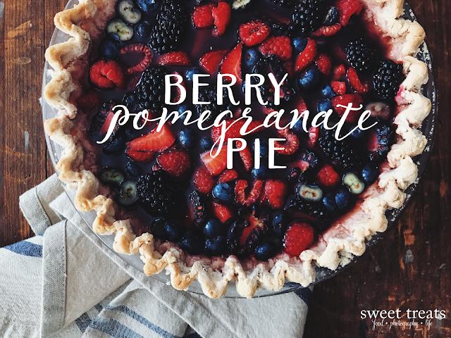 Berry Coconut Pie (AIP, Paleo, Coconut-free)