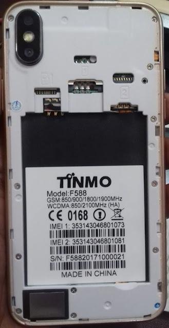 Tinmo F588 Flash File CM2 Read Firmware