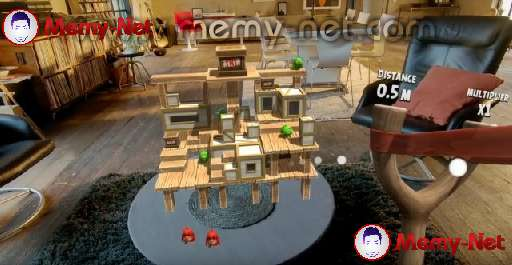 New version of angry birds game Angry Birds