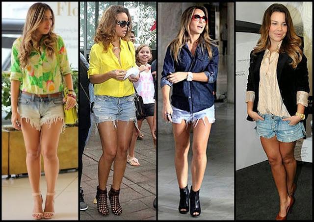 Resultado de imagem para short jeans rasgado