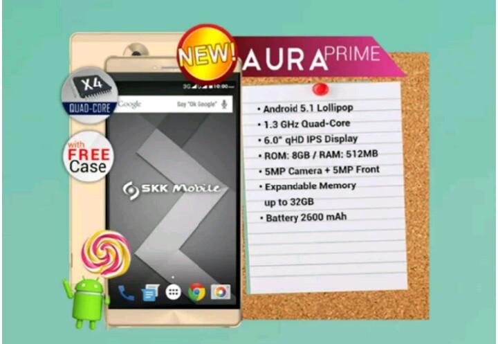 SKK Mobile Aura Prime and Aura Flash appeared online, key specs inside