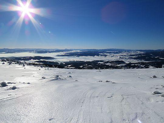 Południowy stok Babiej Góry.