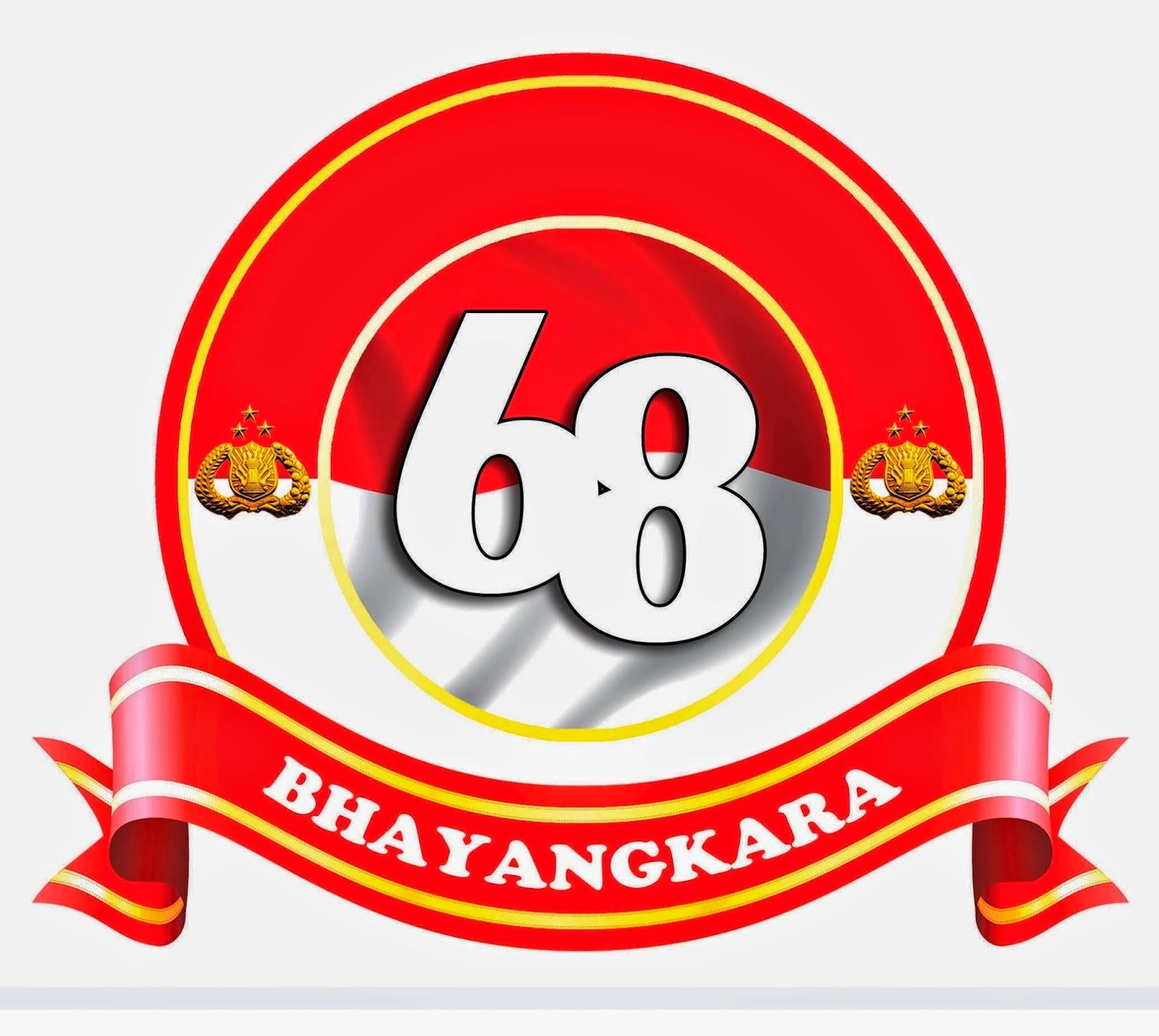 Hut Pj: LOGO HUT BHAYANGKARA 68