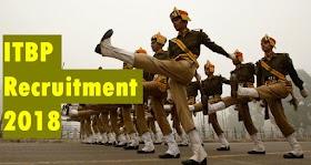 ITBP Recruitment 2018 | Sub Inspector, Head Constable, Constable & Asst. Sub Inspector