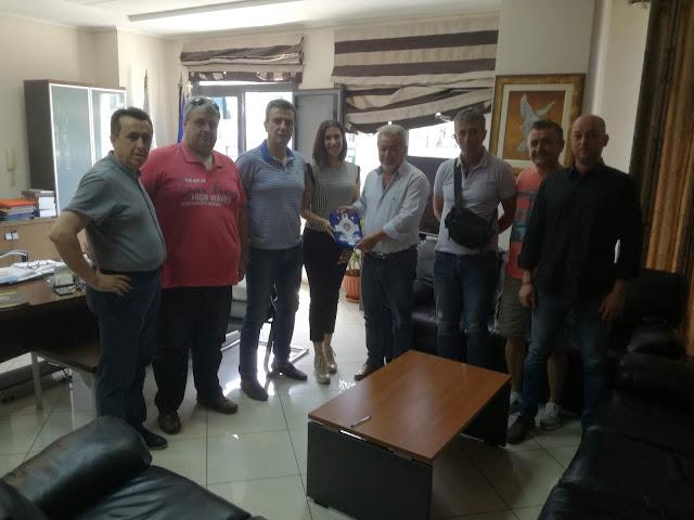 Συνάντηση Δημάρχου Ηγουμενίτσας με το νέο Διοικητικό Συμβούλιο της Τοπικής Διεύθυνσης Θεσπρωτίας της Διεθνούς Ένωσης Αστυνομικών