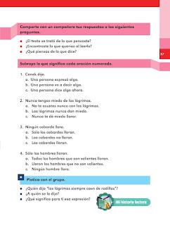 Apoyo Primaria Español 2do grado Bloque 1 lección 16 Canek dijo