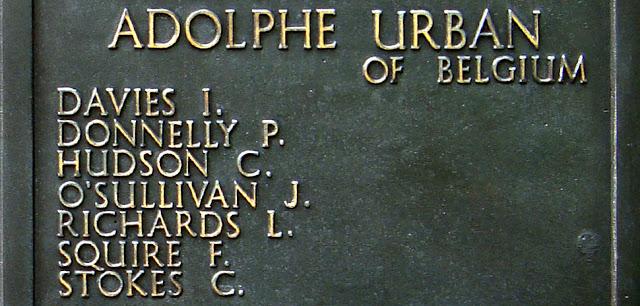 7 March 1941 worldwartwo.filminspector.com Adolphe Urban crew memorial