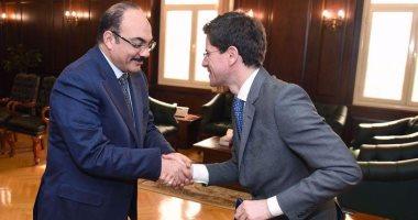 القنصل الاسباني يصرح مصر بلد آمنة خلال لقاءه بمحافظ الاسكندرية