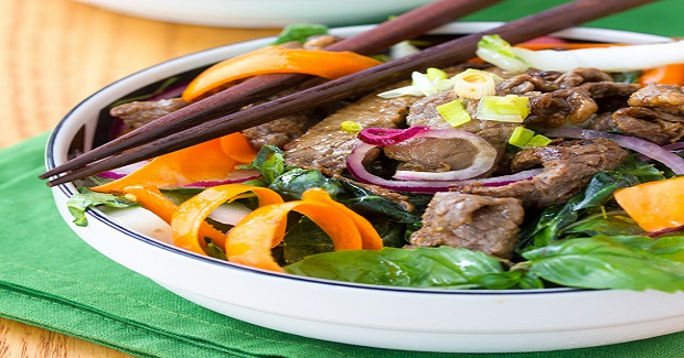 Asian Beef And Bok Choy Salad Recipe