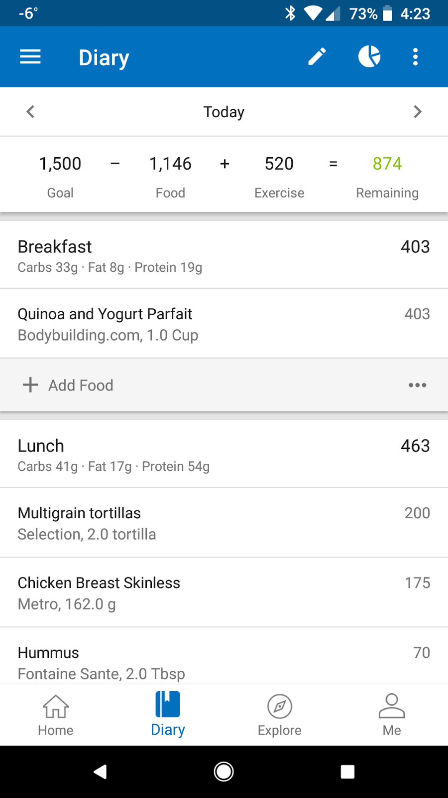 Achieving weight loss and fitness goals with technology