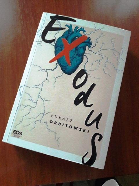 Exodus, Łukasz Orbitowski, książki, czytanie,