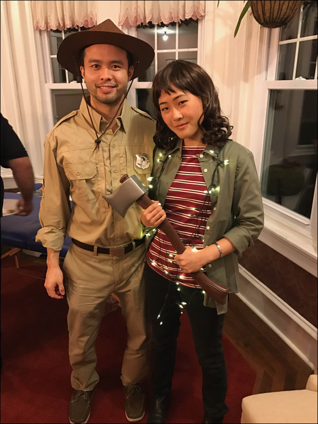 Leila as Ruby Bridges.  sc 1 st  Angry Asian Man & Your Halloween Costumes Part One