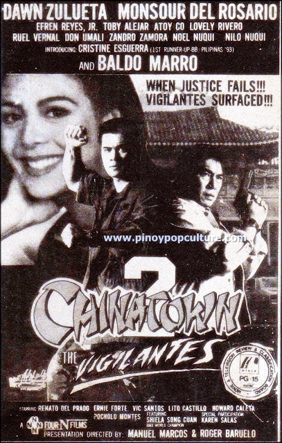 Chinatown, Chinatown 2 The Vigilantes, Monsour del Rosario, Dawn Zulueta, Baldo Marro
