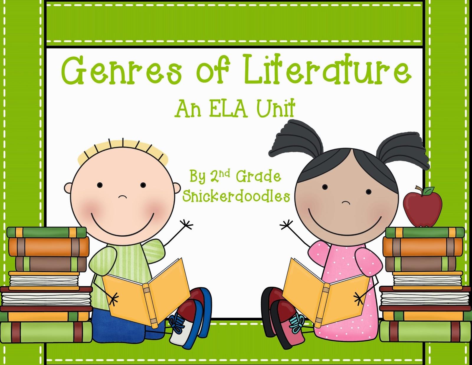 2nd Grade Snickerdoodles Genre Confusion