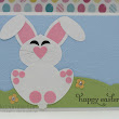 Stampin 'n Stuff: Easter Bunny Punch Art