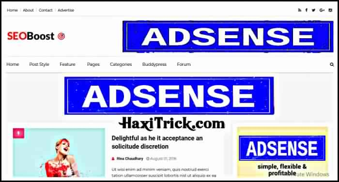 seo boost best free adsense friendly blogger template