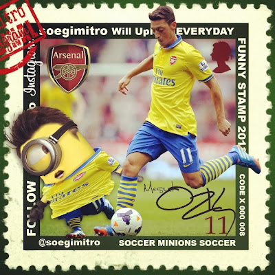 Minion de Mesut Ozil Arsenal
