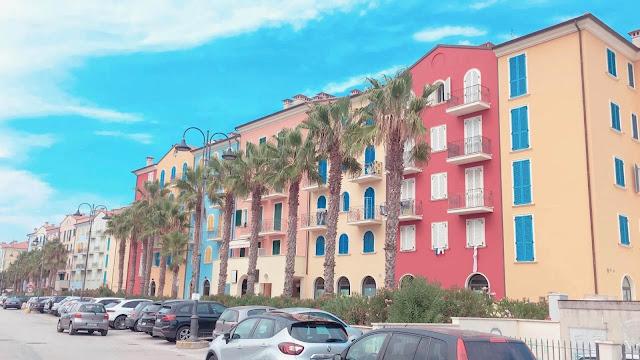 casas de colores de PORTO RECANATI