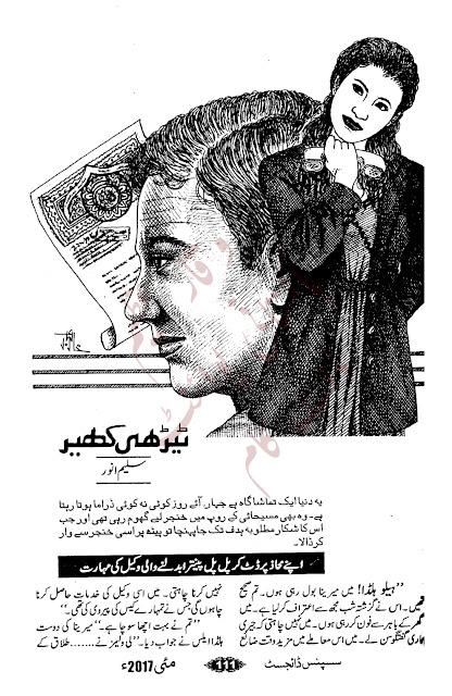 Free download Terhi kheer novel by Saleem Anwar pdf