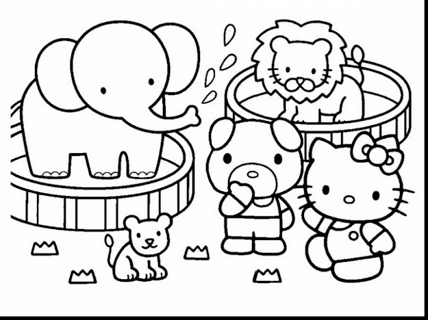 Fantastic Hello Kitty Printable Coloring Pages With Hello Kitty Christmas  Coloring Pages