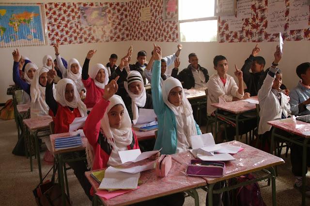 Resultado de imagen de educacion en los campamentos saharauis