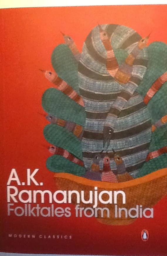 Folktales from India by AK Ramanujan, Image Art Scene India