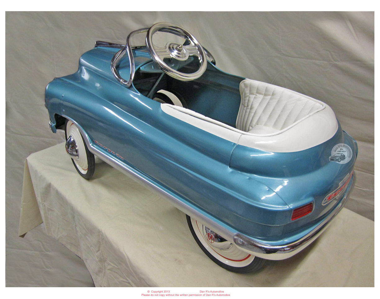 Old Antique Toys: The Beautifully Restored Pedal Cars Of