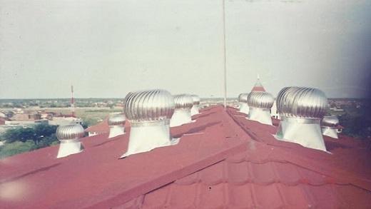 Roof Fan Ventilasi Untuk Pabrik