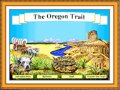 The Oregon Trail Game On The Big Screen?