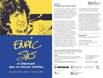 Enric Sió. El dibuixant que va trencar motlles. Jordi Riera