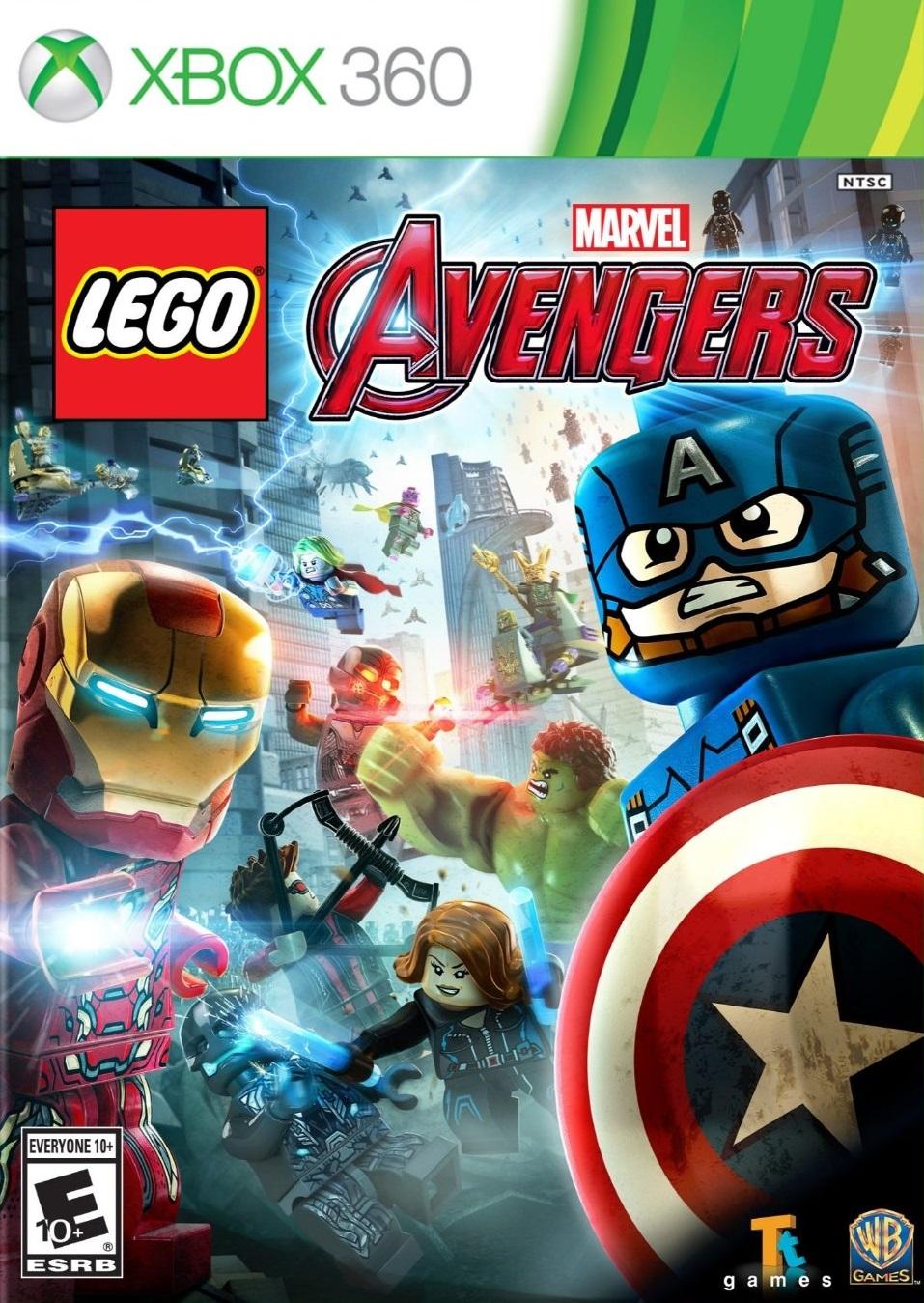 LEGO Marvel's Avengers ESPAÑOL XBOX 360