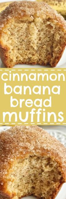 Cínnamon Banana Bread Muffíns