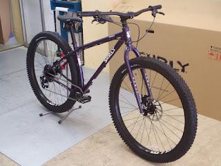 SURLY 【 KRAMPUS 】を納車しました!!フレームカラーは新色の Bruised Ego Purple!!