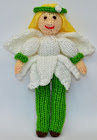 Flower Fairy Doll Knitting Pattern