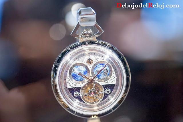 Colección Montblanc Villeret Tourbillon Cylindrique Pocket Watch 110 Years Edition - 8 piezas
