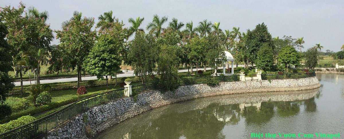 Biệt thự Vườn Cam Vinapol - khu biệt thự đẳng cấp kiến trúc Pháp cổ tại Hà Nội
