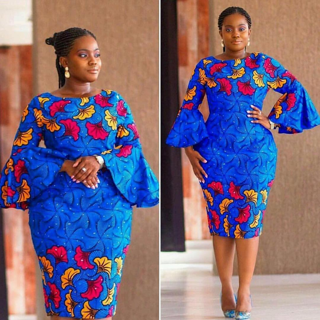 Pictures of Simple Ankara styles for Beautiful Nigeria ...