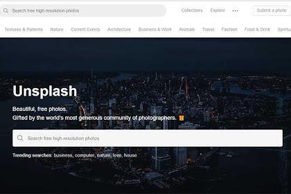 10 Website Penyedia Gambar Berkualitas / Royalty Secara Gratis Untuk Konten Blog