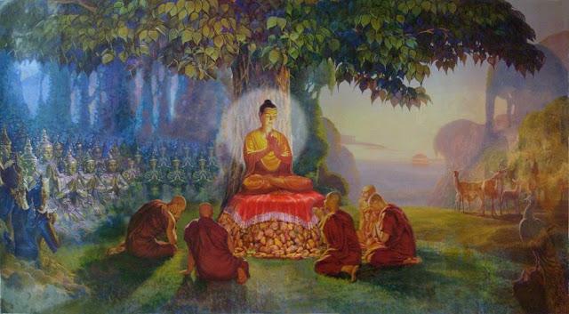 Kinh Chuyển Pháp Luân - Bài Pháp Đầu Tiên- ĐỨC PHẬT và PHẬT PHÁP - Đạo Phật Nguyên Thủy (Đạo Bụt Nguyên Thủy)