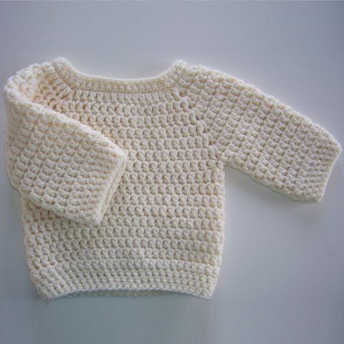 Baby Bumpy Sweater - Free Pattern