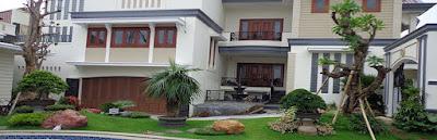 taman halaman rumah di surabaya jawa timur