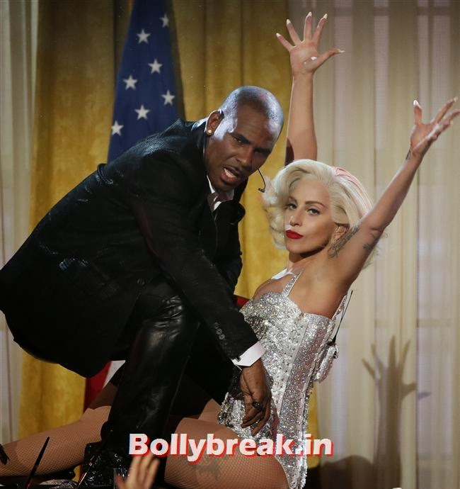 Lady Gaga, R. Kelly, American Music Awards 2013