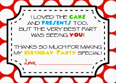 Mickey Mouse Clubhouse Party Free Printables Thank You Notes