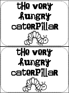 The Bubbly Blonde: The Very Hungry Caterpillar Literacy Unit