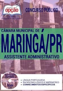 apostila da Câmara Municipal de Maringá-pr