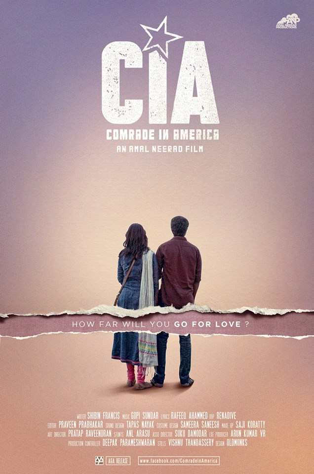 Dulquer Salmaan's 'Comrade in America(CIA)' Movie New Posters | c65.in
