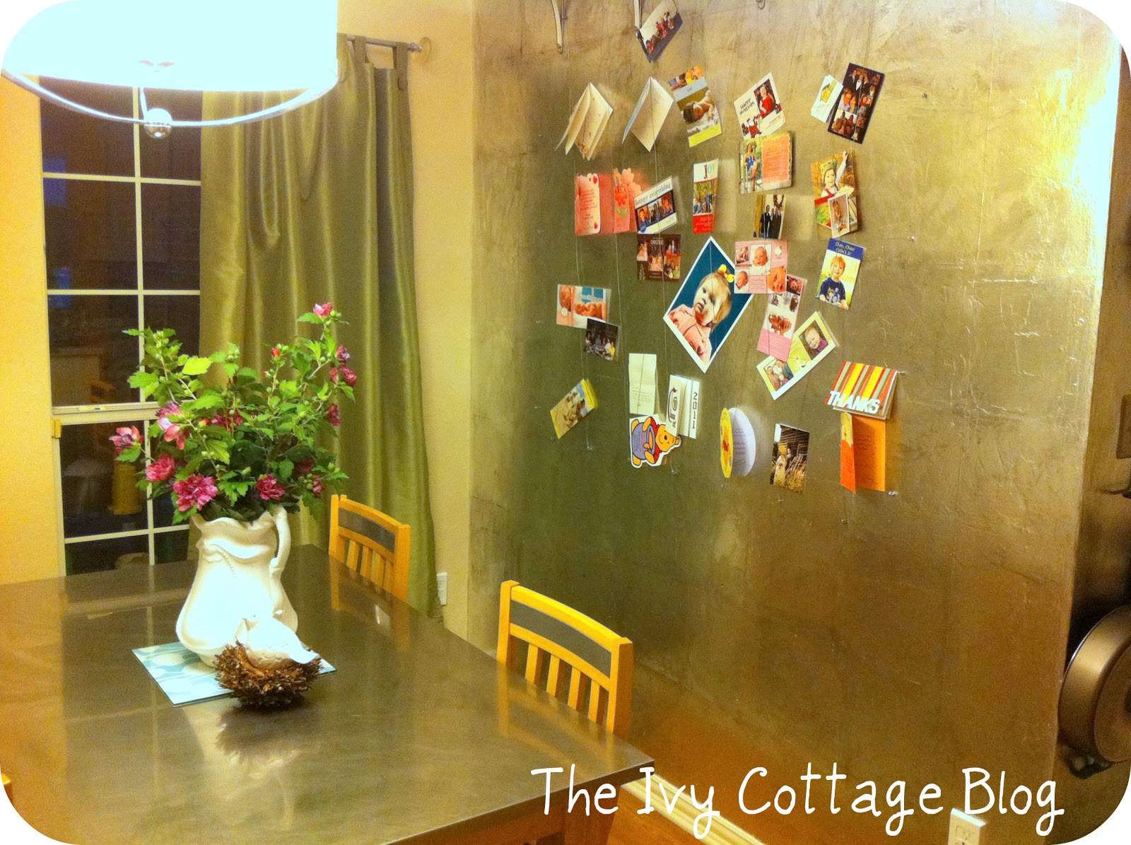 Faux Silver Leaf Tutorial from The Ivy Cottage Blog - Positively ...