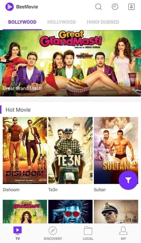 BeeMovie APK v3.1.0 The Best APP To Watch Popular Movie