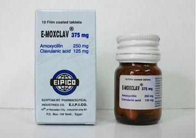 سعر دواء ايموكسكلاف E-Moxclav شراب مضاد حيوي