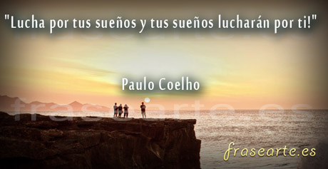 Frases de lucha de de Paulo Coelho